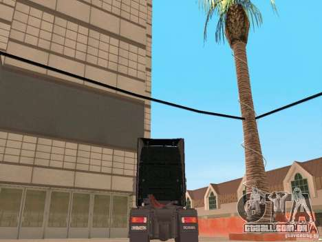 Scania 124L 420 para GTA San Andreas traseira esquerda vista