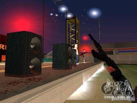 Concerto da AK-47 para GTA San Andreas quinto tela