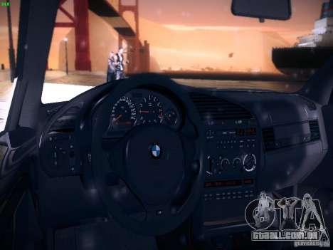 BMW M3 E36 320i Tunable para GTA San Andreas vista superior