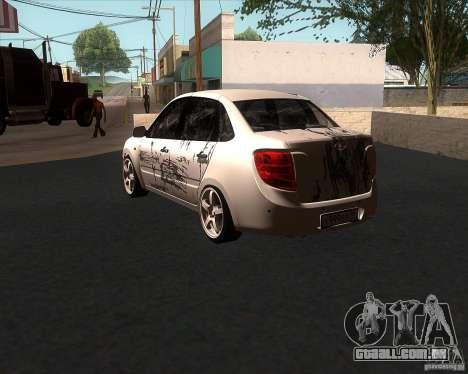 Lada Grant para vista lateral GTA San Andreas
