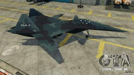 ADF-01 Falken para GTA 4 esquerda vista