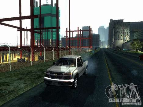 Chevrolet Colorado 2003 para GTA San Andreas esquerda vista