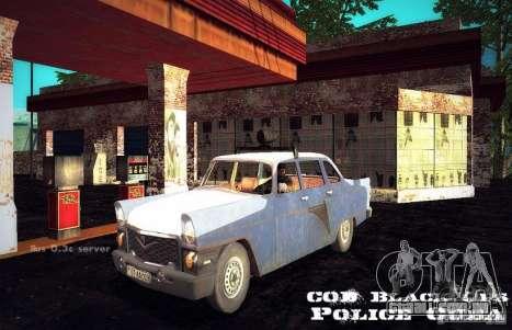 Polícia gás 13 Cuba para GTA San Andreas