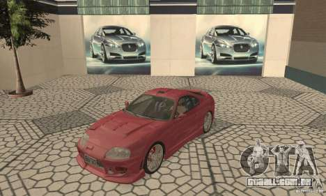 Toyota Supra Tunable 2 para GTA San Andreas esquerda vista