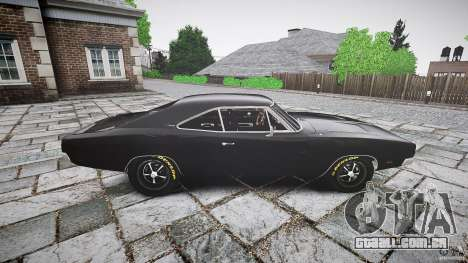 Dodge Charger RT 1969 para GTA 4 esquerda vista