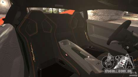 Lamborghini Gallardo LP570-4 Superleggera para GTA 4 vista interior