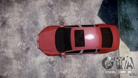 Volkswagen Pheaton W12 para GTA 4 vista de volta