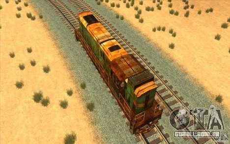 Chme3-5792 v2 para GTA San Andreas vista direita