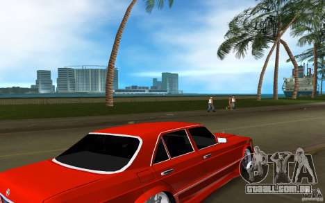 Mercedes-Benz W126 Wild Stile Edition para GTA Vice City vista direita