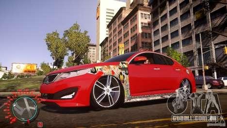 Kia Optima Dub para GTA 4