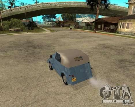 SMZ s-3A para GTA San Andreas esquerda vista