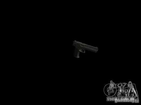 Armas do GTA 4 para GTA San Andreas quinto tela