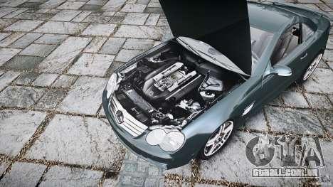 Mercedes Benz SL65 AMG V1.1 para GTA 4 vista de volta