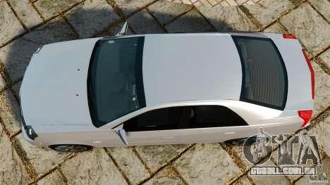 Cadillac CTS-V 2004 para GTA 4 vista direita