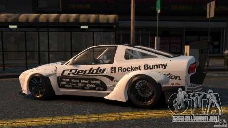 Nissan 380SX BenSopra RIV para GTA 4 esquerda vista