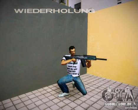 Saiga 12 k para GTA Vice City quinto tela