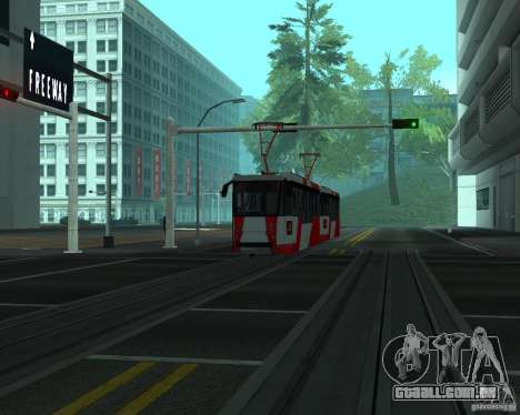 LM-2008 para GTA San Andreas esquerda vista