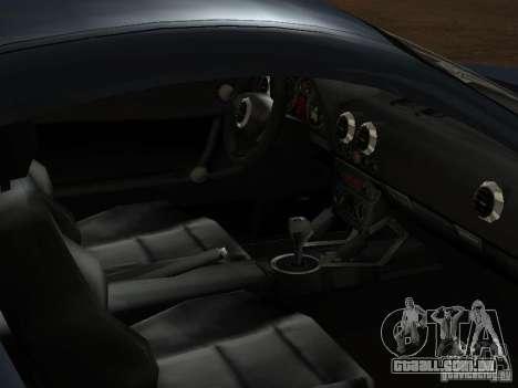 Audi TT 3.2 Quattro para GTA San Andreas vista inferior
