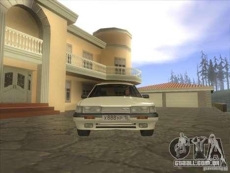 Mazda 626 DC 1986 para GTA San Andreas vista direita
