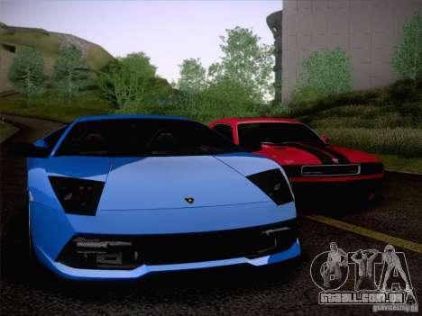 Lamborghini Murcielago LP640 para vista lateral GTA San Andreas