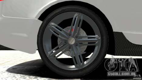 Audi RS6 Avant 2010 Carbon Edition para GTA 4 vista superior