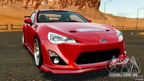 Subaru BRZ 2013 para GTA 4