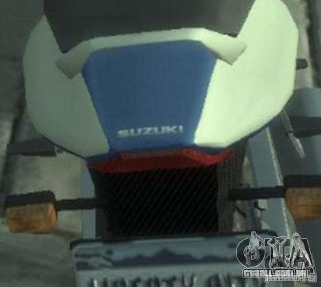 NRG900 to Suzuki GSX-R para GTA 4 vista direita