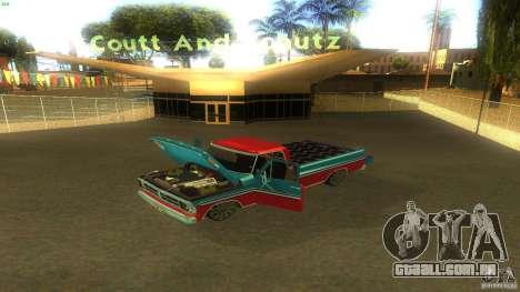 Ford F1000 Bicho para GTA San Andreas vista direita