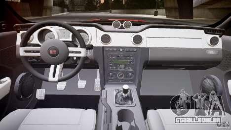 Saleen S281 Extreme - v1.1 para GTA 4 vista de volta