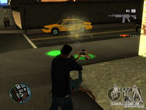 KILL LOG para GTA San Andreas segunda tela