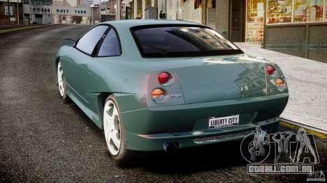 Fiat T20 Coupe para GTA 4 traseira esquerda vista