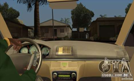 Lexus GS300 2003 para GTA San Andreas vista interior