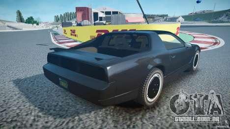 Knight Rider [EPM] para GTA 4 rodas