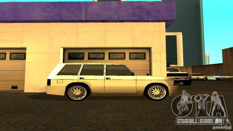 Huntley Sport para GTA San Andreas esquerda vista