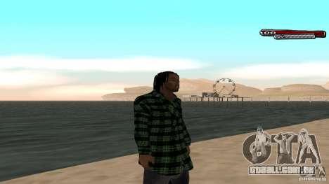 New skin Grove HD para GTA San Andreas por diante tela