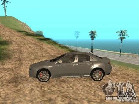 Alfa Romeo 159Ti para GTA San Andreas esquerda vista
