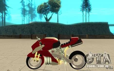 New NRG Standart version para GTA San Andreas esquerda vista