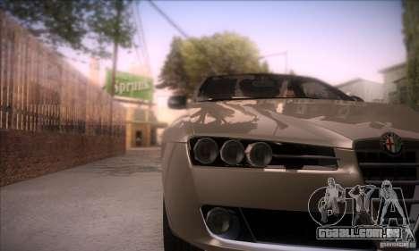 Alfa Romeo 159 para GTA San Andreas vista direita