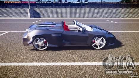Ferrari F430 Extreme Tuning para GTA 4 vista lateral