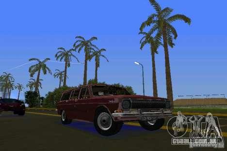 GAZ Volga de 2402 para GTA Vice City deixou vista