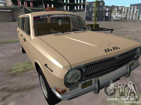 Táxi do Volga GAZ-24-02 para GTA San Andreas