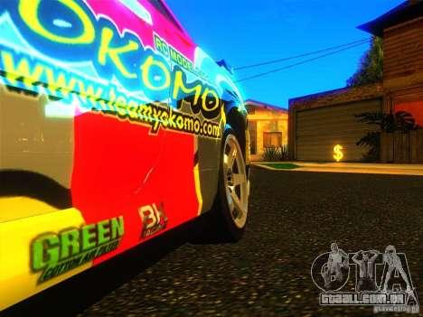 Nissan Skyline R34 Nismo para GTA San Andreas vista direita