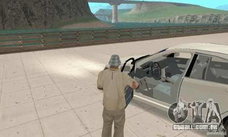 Honda Accord Comfort 2003 para GTA San Andreas vista traseira