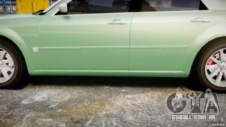 Chrysler 300C SRT8 Tuning para GTA 4 vista inferior