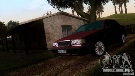 Volvo 850 Final Version para GTA San Andreas vista direita