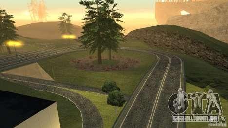 New HQ Roads para GTA San Andreas twelth tela