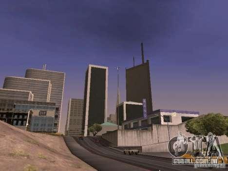Weather manager para GTA San Andreas sexta tela