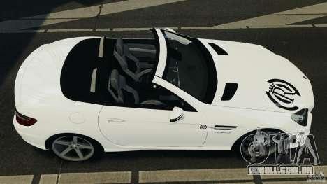 Mercedes-Benz SLK 2012 v1.0 [RIV] para GTA 4 vista direita