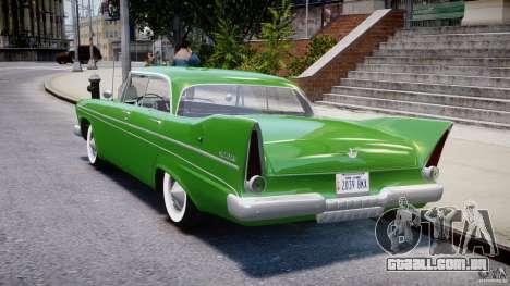 Plymouth Belvedere 1957 v1.0 para GTA 4 traseira esquerda vista