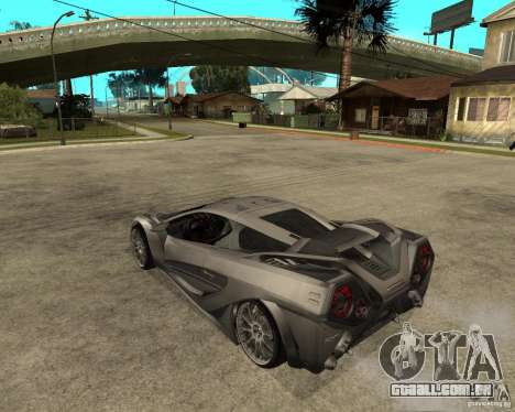 Nemixis para GTA San Andreas esquerda vista